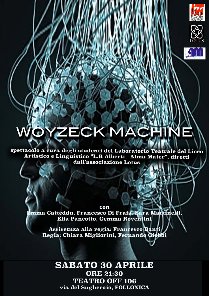 Teatro 2016 Woyzeck Machine