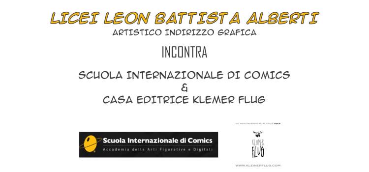 Liceo Artistico indirizzo Grafica incontra Kleiner Flug e Scuolacomics