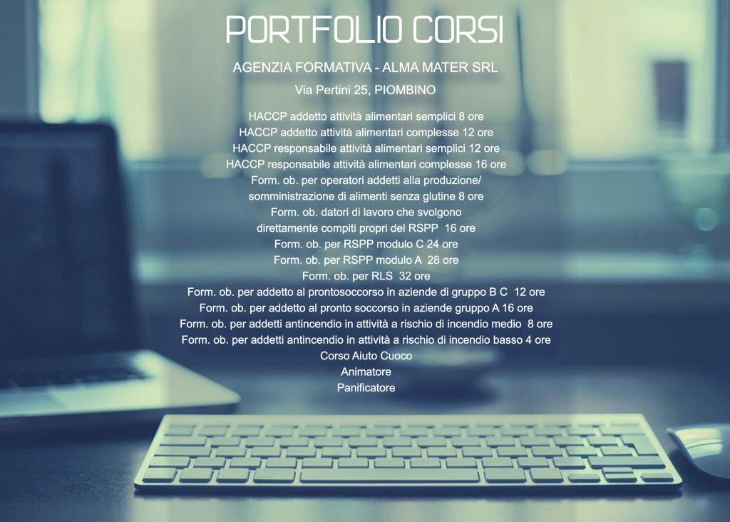 portfolio corsi formazione professionale piombino