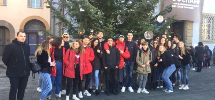 Gli studenti del Liceo Alberti in gita a Pisa mostra da Magritte a Duchamp, il grande surrealismo